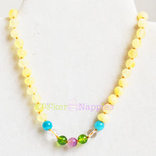 Baltic Amber Teething Necklace - Coastal Collection