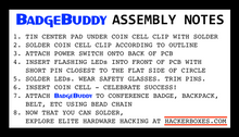 Safe Mode BadgeBuddy