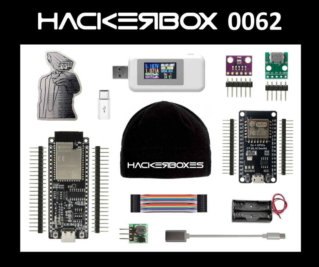 HackerBox #0062 - Watts Up