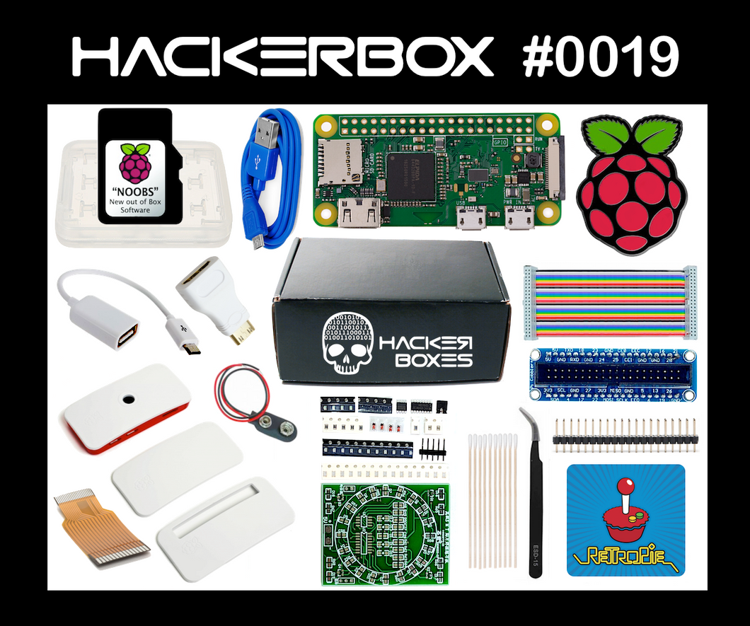 HackerBox #0019 - Raspberry WiFi
