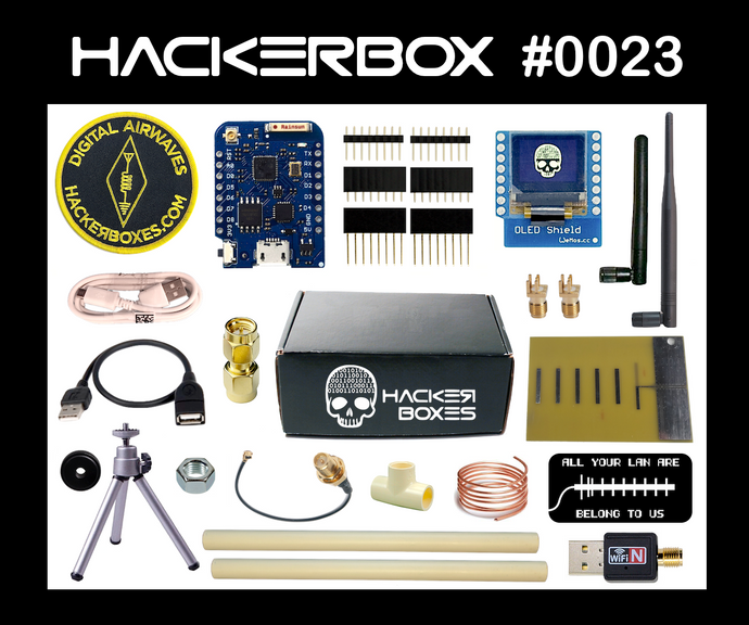 HackerBox #0023 - Digital Airwaves