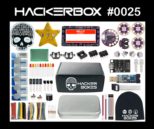 HackerBox #0025 - Flair Ware