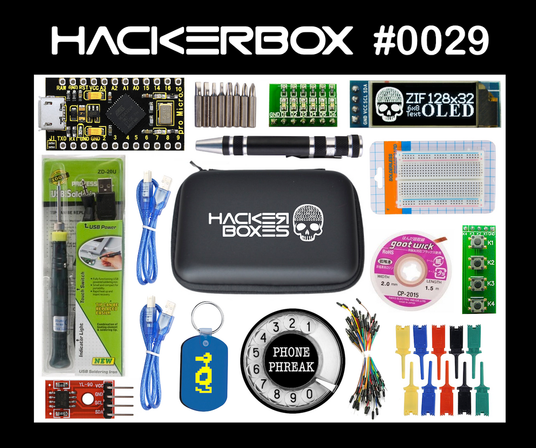HackerBox #0029 - Field Kit