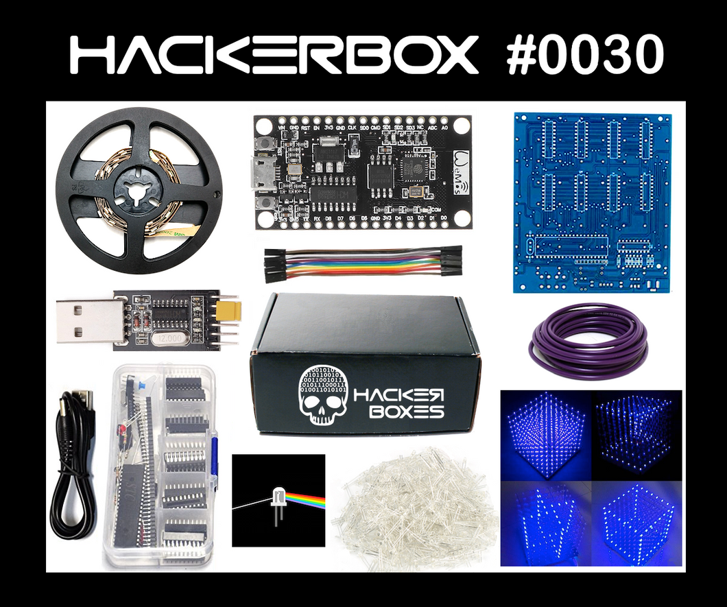 HackerBox #0030 - Lightforms