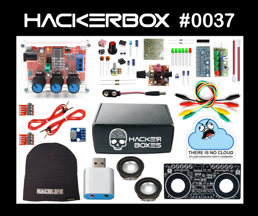 HackerBox #0037 - WaveRunner