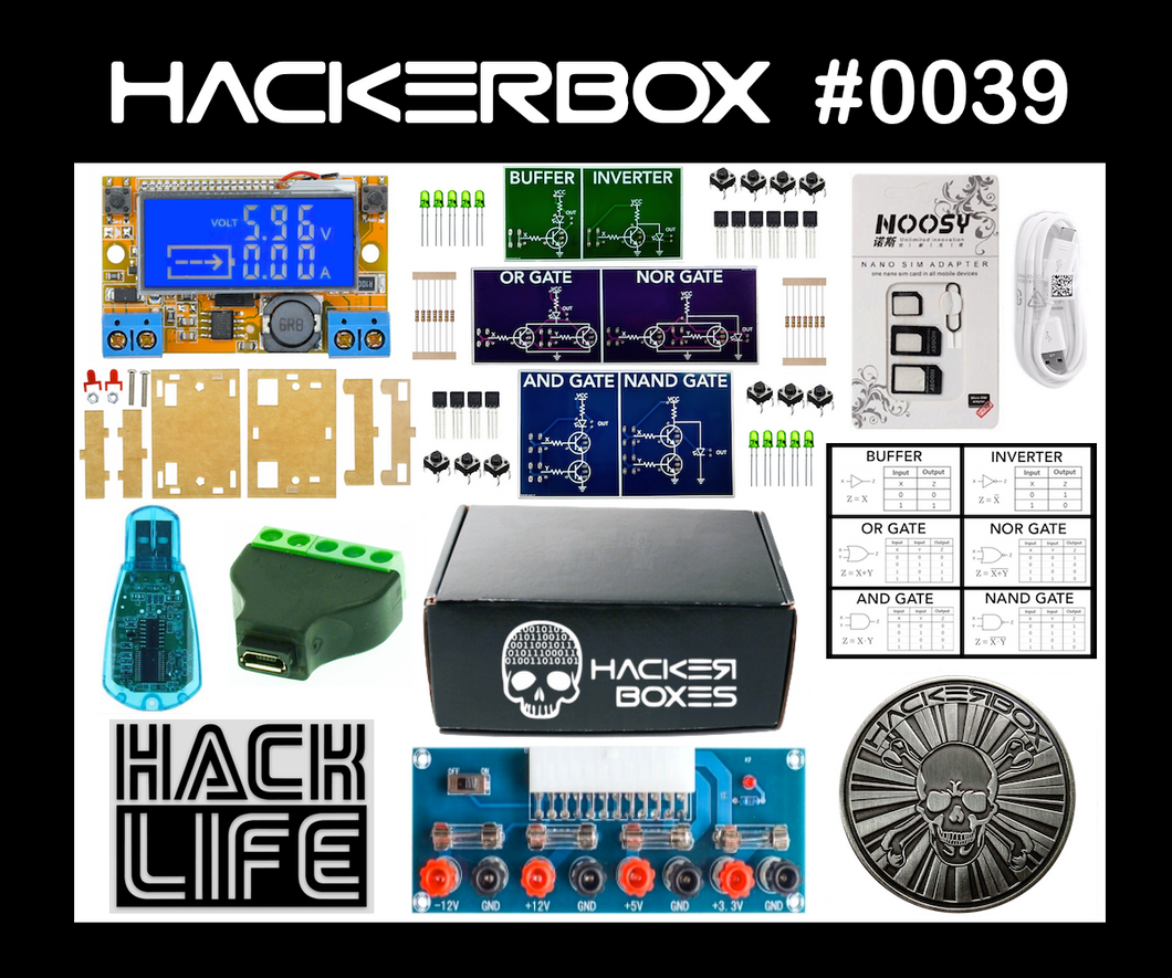 HackerBox #0039 - Level Up