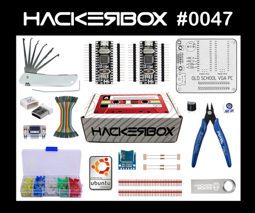 HackerBox #0047 - Old School