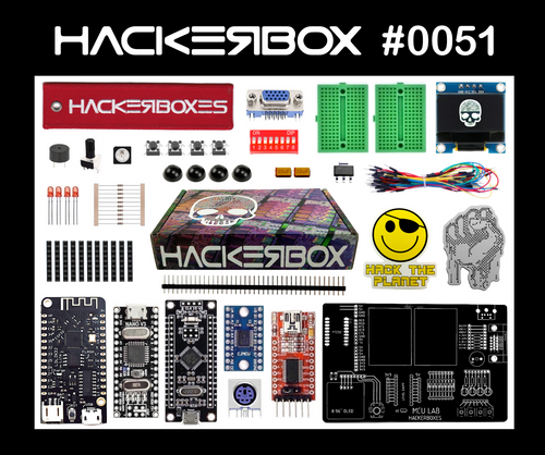 HackerBox #0051- MCU Lab
