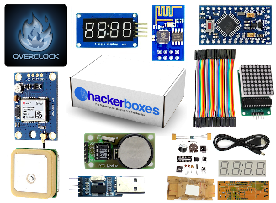 HackerBox #0008 - Clockwork