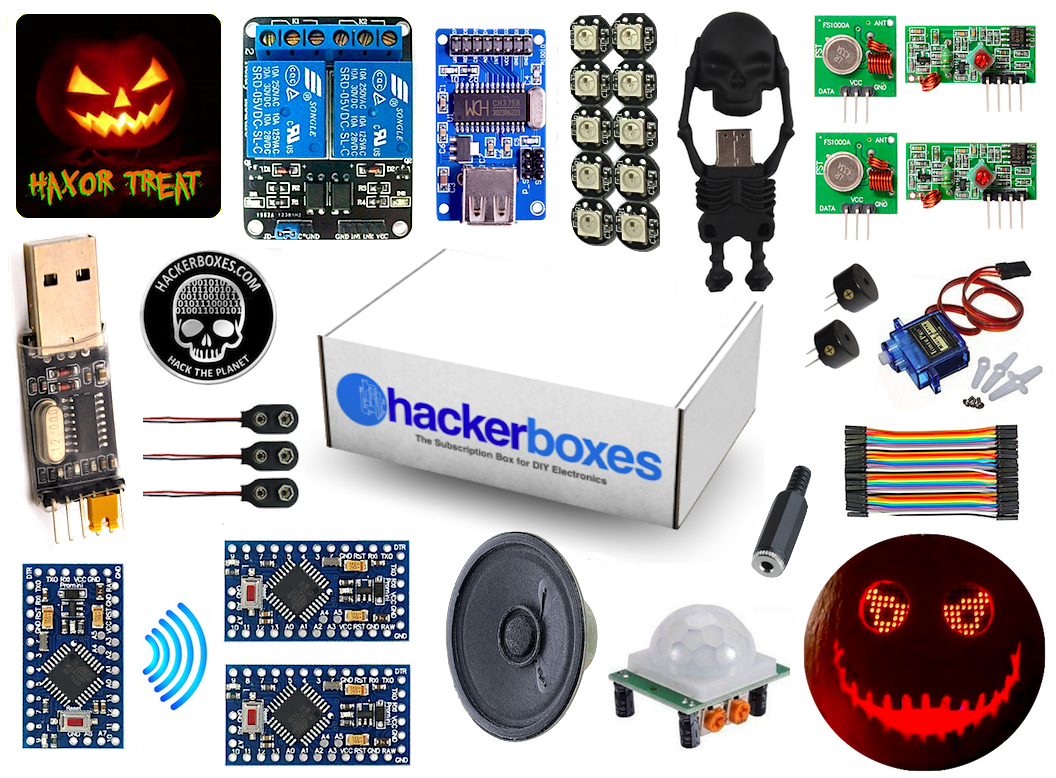 HackerBox #0011 - H4x0r Treat