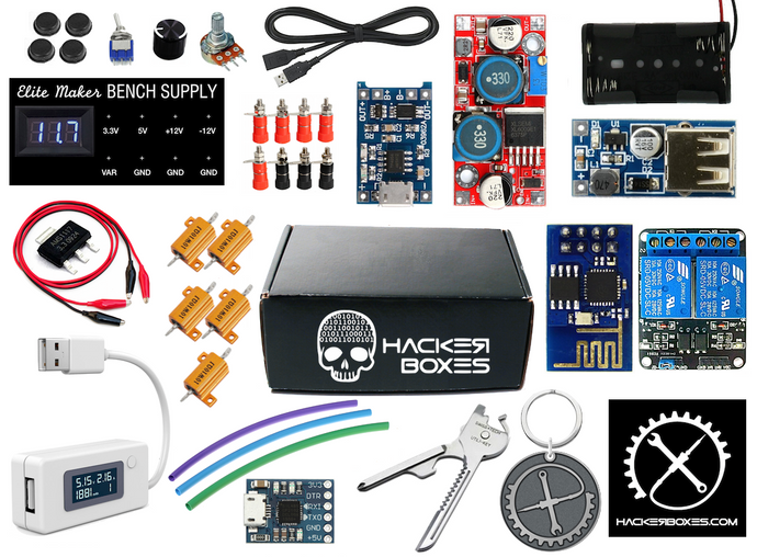 HackerBox #0017  - Power Maker