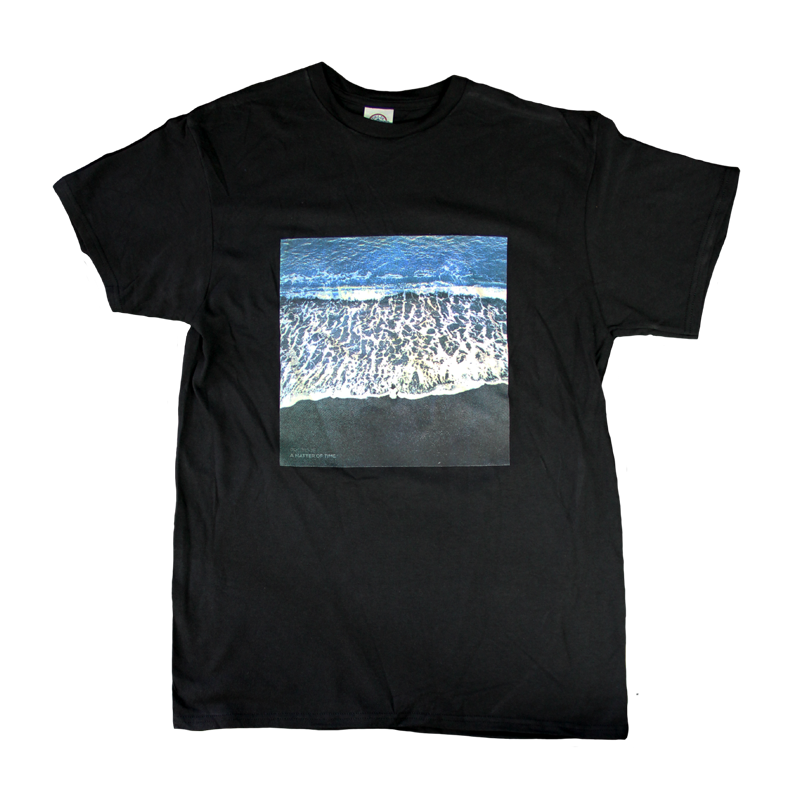 A Matter of Time Black Tee