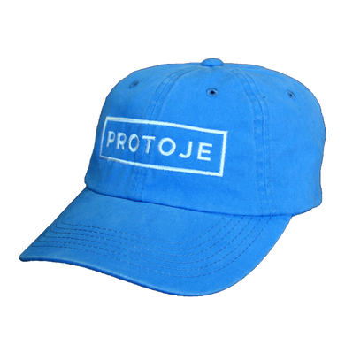 Blue Box Logo Dad Hat