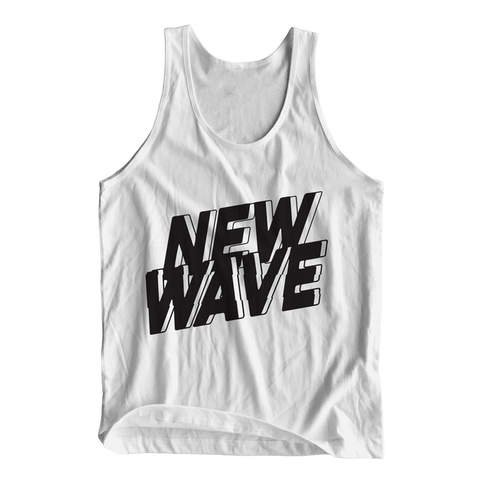 New Wave Tank Top (White)