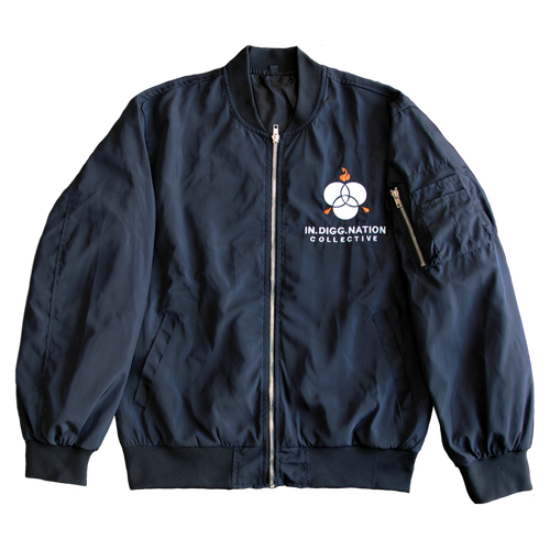 A Matter of Time Bomber Jacket