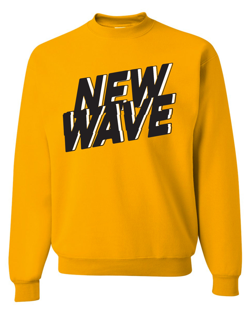 New Wave Crew Sweater