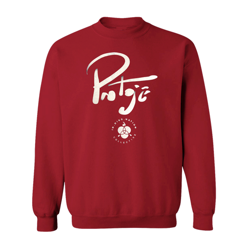 Signature Crew Sweater Red