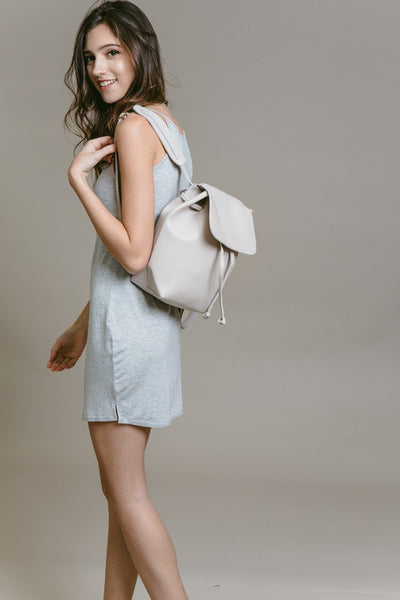 Light Gray Backpack