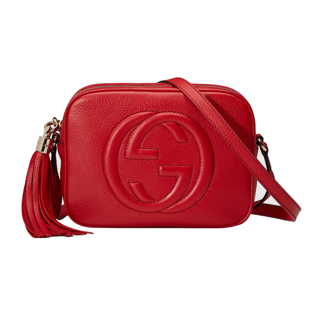 dc67e4f1b077 Gucci Soho Leather Disco Bag Red – MIVESTI FASHION LLC