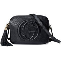 Gucci Soho Leather Disco Bag Black