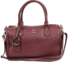 Image of VERSACE 1969 V ITALIA Leather Bowler Tote Bag