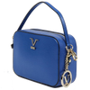 Image of VERSACE 1969 V ITALIA Leather Crossbody Bag