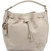 Image of VERSACE 1969 V ITALIA Leather Shoulder Draw String Bag