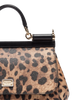 Image of DOLCE & GABBANA TOP HANDLE MEDIUM SICILY HANDBAG IN DAUPHINE LEATHER