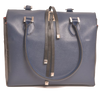 Image of Lombardi Venere L0015 Venere Top Handle Bag - Blue Nero