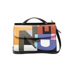 FENDI Small Demijour Leather Shoulder Bag