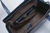 Image of Lombardi L0019 Lussuria - Top Handle Bag - Bronzo Taupe - Blue Nero - MilanoFashion56.com