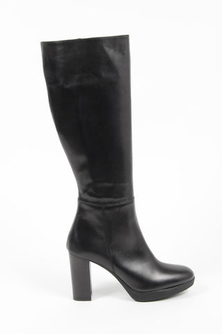 Versace 1969 V Italia Women's Black Knee-High Boots