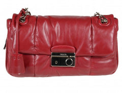 Prada B5023L Bomber Effect Shoulder Bag - MilanoFashion56.com