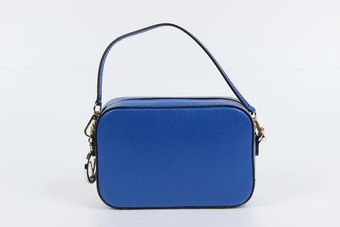 VERSACE 1969 V ITALIA Leather Crossbody Bag - MilanoFashion56.com