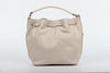 Image of VERSACE 1969 V ITALIA Leather Shoulder Draw String Bag - MilanoFashion56.com