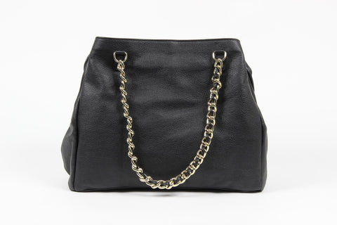 VERSACE 1969 V ITALIA Leather Shoulder Bag