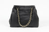 Image of VERSACE 1969 V ITALIA Leather Shoulder Bag