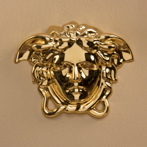 Versace Signature Medusa Lock Leather Handbag-K240H