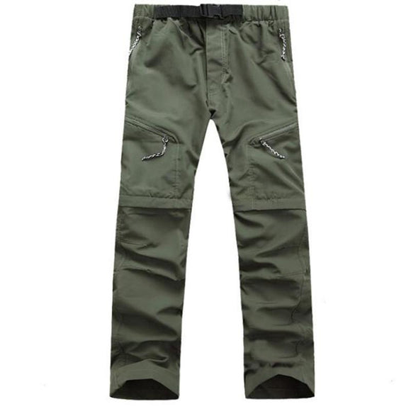 Men's Outdoor Fast Dry UV resistant nvertible Pants Trousers Hunting Pants