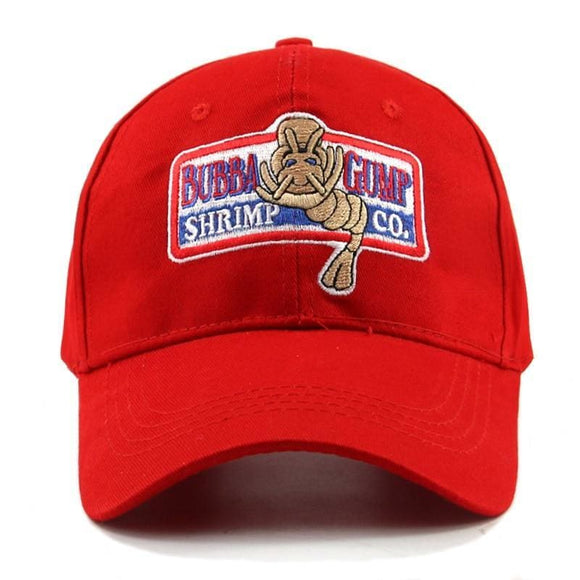 1994 Bubba Gump Shrimp Baseball Cap Mens Women Sport Hats Summer Cap Embroidered Casual Hat Forrest Gump Caps Costume Zodeys