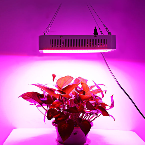 400W ( True 140W ) LED Plant Grow Light Panel Full Spectrum Suspension Lamp Square Shape for Hydroponics Indoor Seedling