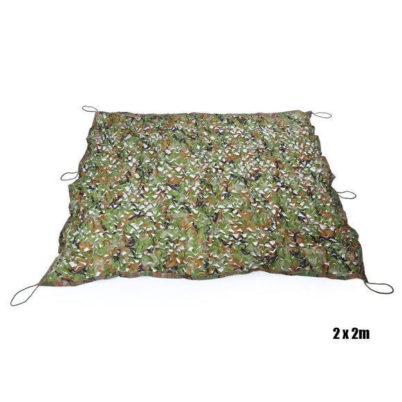 Woodland Military Camouflage Net Hunting Camping Tent Car Cover