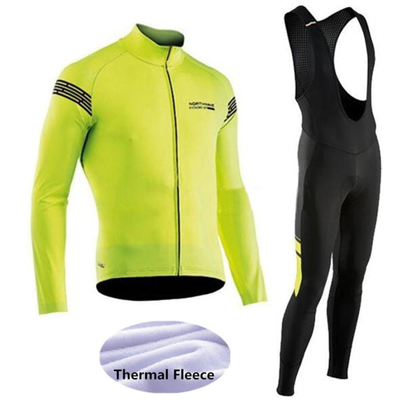 2018 Thermal Fleece Cycling Jersey / Winter Bike Wear Maillot Ropa Ciclismo Invierno Hombre MTB Bicycle Clothing -33WE-Zodeys-01-3XL-Zodeys