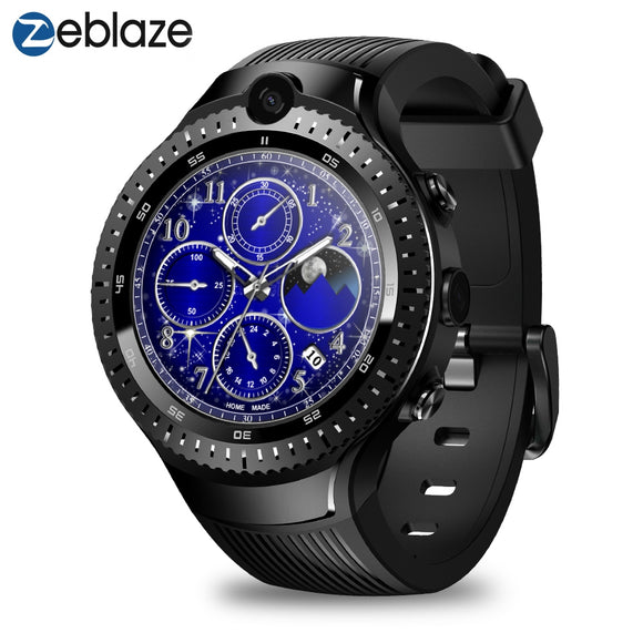 Zeblaze Thor 4 Dual 4G Smart Watch AMOLED Display 5.0MP Camera GPS WiFi for Android / iOS