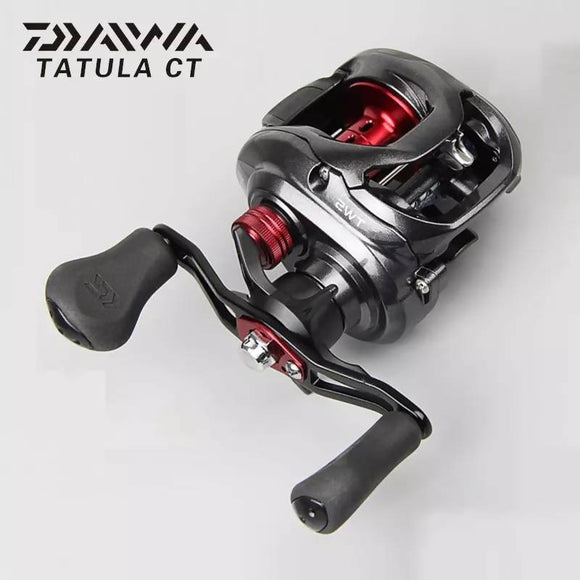 Original DAIWA TATULA CT Bait Casting Fishing Reel TWS LOW PROFILE Reels 100H 100HS 100XS