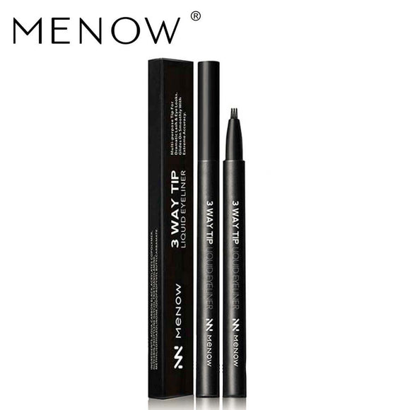 MENOW EL02 sancha, head of liquid eyeliner pen Waterproof eyeliner studio makeup of foreign trade