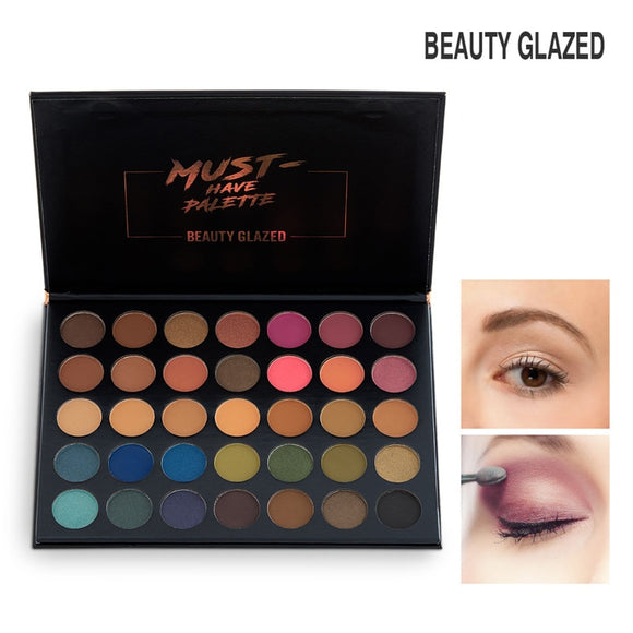 BEAUTY GLAZED Face Makeup Jaclyn Hill Eyeshadow Palette 35 Color Shades Pallete Make up Palette Maquillage Morphejaclynhill 39a