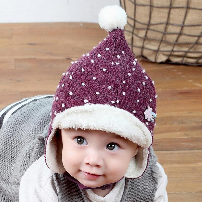 ... Doitbest Korean 1 to 3 years old Baby boy Bomber hat fur inside Winter  Beanies Child ... 70f0491fa48