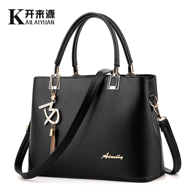 100% Genuine leather Women handbags 2017 new handbag bag ladies fashion  handbag Crossbody Bag explosion bac2639160c0