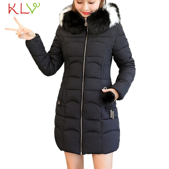 Women Jacket Winter Hooded Thick Fur Cotton Parka Long 2018 Plus Size Ladies Chamarra Cazadora Mujer Coat For Girls 18Oct24